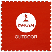 Podlaha PAVIGYM Paviplay Outdoor 40 mm - RED