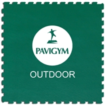 Podlaha PAVIGYM Paviplay Outdoor 40 mm - GREEN