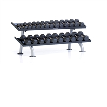 Stojan na činky TUFF STUFF Two tier hex dumbbell rack, 12 pair