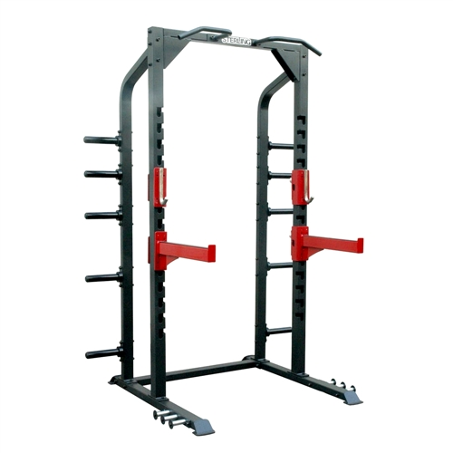 Posilovací stroj IMPULSE FITNESS Half Power Rack