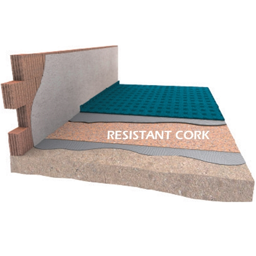 DAMTEC Resistant cork 3mm