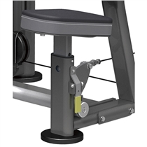 posilovaci stroj Shoulder press impulse it9312 sedak