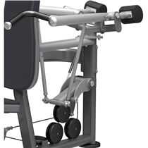 posilovaci stroj Shoulder press impulse it9312 lanovy prevodnik