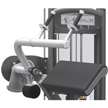 posilovaci stroj triceps v sede impulse it9323 opora ruky