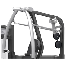 posilovaci stroj chest press  impulse it9331 ramena